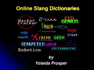Online Slang Dictionaries