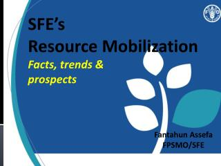 SFE�s  Resource Mobilization  Facts, trends &  prospects