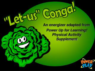 An energizer adapted from Power Up for Learning Physical Activity Supplement