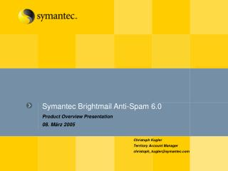 Symantec Brightmail Anti-Spam 6.0