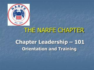 THE NARFE CHAPTER