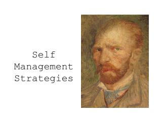 Self Management Strategies
