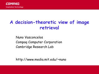 A decision-theoretic view of image retrieval
