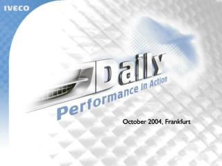 October  2004,  Frankfurt