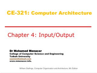 CE-321:  Computer  Architecture