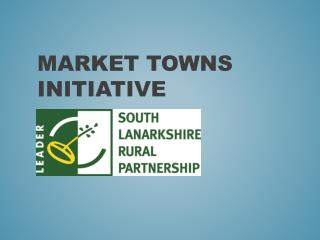 Market Towns initiative