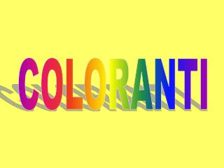 COLORANTI