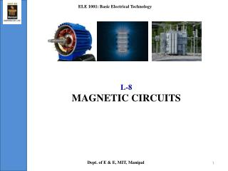 L-8 MAGNETIC CIRCUITS