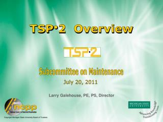 TSP2  Overview