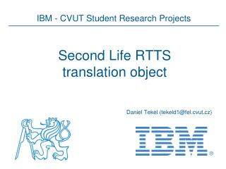 Second Life RTTS translation object