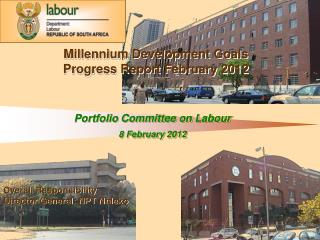 Portfolio Committee on Labour  8 February 2012