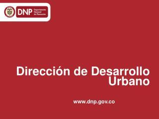 Direcci�n de Desarrollo Urbano
