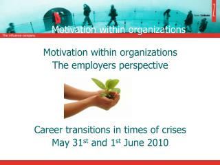 Motivation within organizations