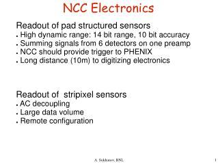NCC Electronics