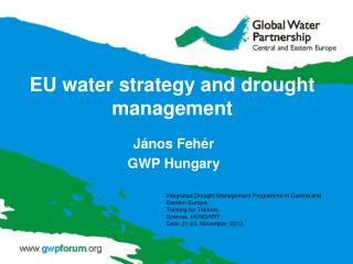 EU water strategy and drought management