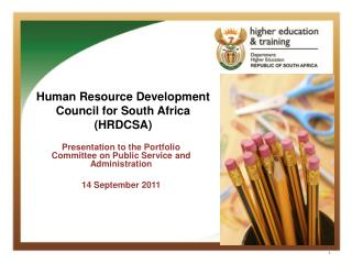 Human Resource Development  Council for South Africa (HRDCSA)