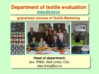 Department of textile evaluation