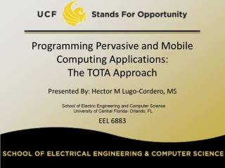 Programming Pervasive and Mobile Computing Applications:  The TOTA Approach