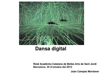 Dansa digital