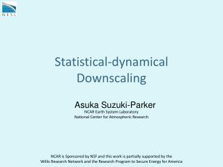 Statistical-dynamical Downscaling