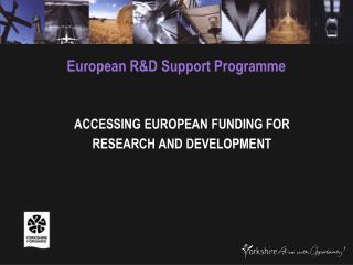European R&D Support Programme