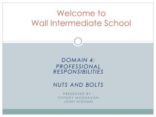 Welcome to  Wall Intermediate School