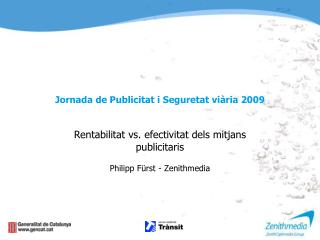 Jornada de Publicitat i Seguretat viària 2009