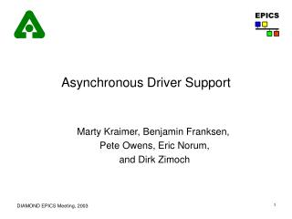 Asynchronous Driver Support