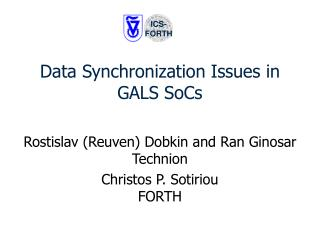 Data Synchronization Issues in GALS SoCs