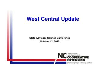 West Central Update