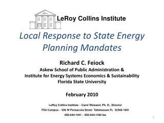LeRoy Collins Institute