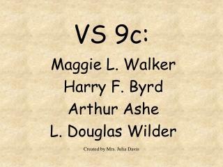 VS 9c: