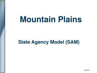 State Agency Model (SAM)