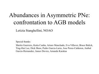 Abundances in Asymmetric PNe: confrontation to AGB models