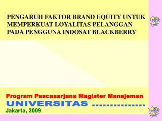 Program Pascasarjana Magister Manajemen