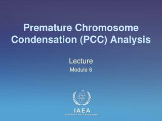 Premature Chromosome Condensation (PCC) Analysis