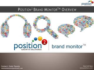 Position 2  Brand Monitor TM  Overview