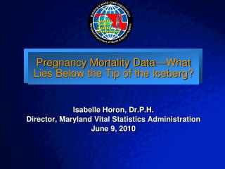 Pregnancy Mortality Data—What Lies Below the Tip of the Iceberg?