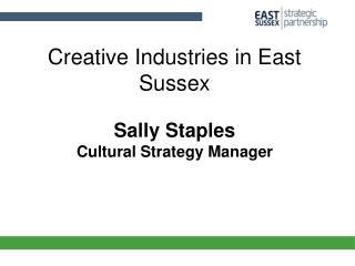 Creative Industries in East Sussex