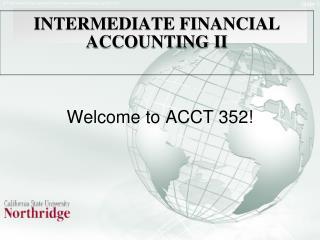 INTERMEDIATE FINANCIAL ACCOUNTING II