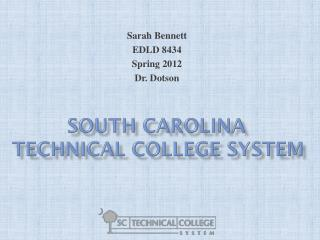 South Carolina Technical College System