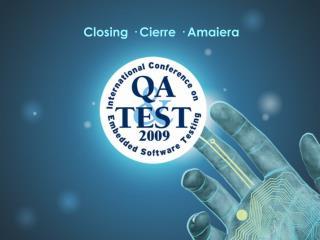 Closing · Cierre · Amaiera