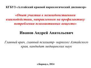 Иванов Андрей Анатольевич