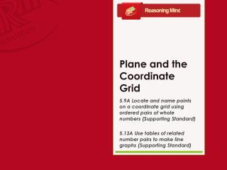 Plane and the  Coordinate Grid