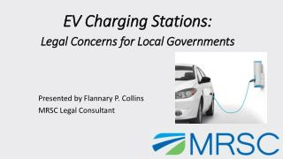 EV Charging Stations:  Legal Concerns for Local Governments
