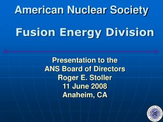 American Nuclear Society