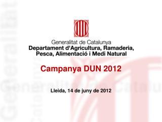 Campanya DUN 2012