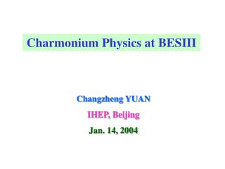 Charmonium Physics at BESIII