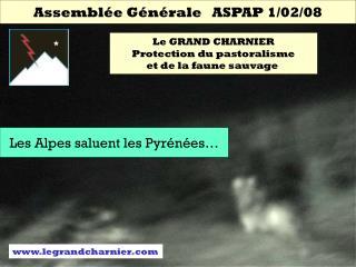 Assemblée Générale   ASPAP 1/02/08