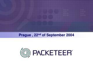 Prague , 22 nd  of September 2004